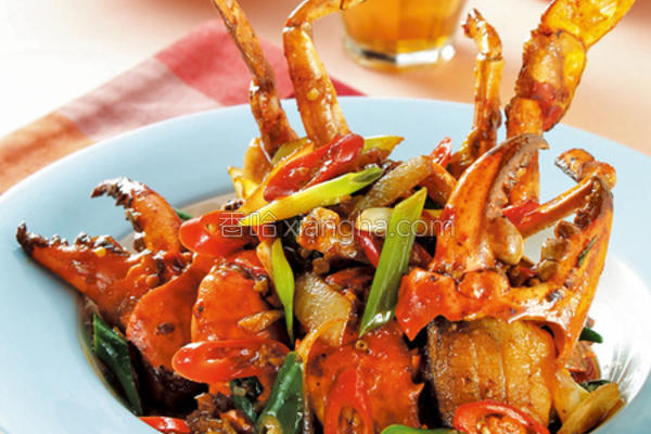 辣味蟹的做法