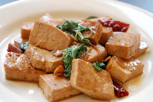 三杯豆腐的做法