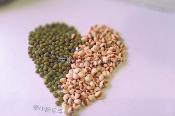 绿豆薏仁解你的做法