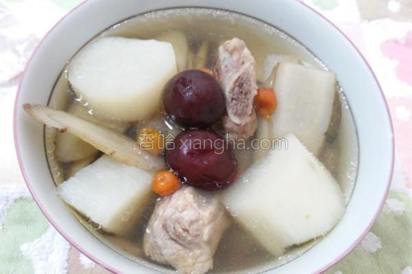 山药牛蒡排骨汤的做法