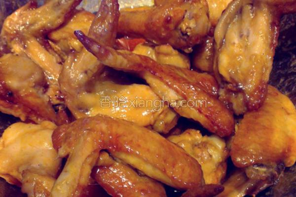 美式酸辣鸡翅的做法