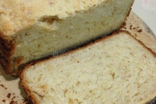淡奶油椰丝吐司的做法