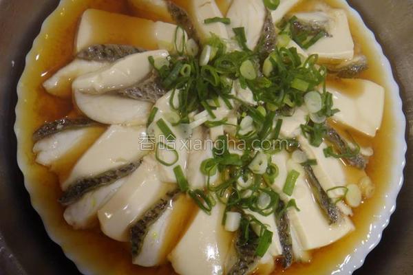 清蒸鲷鱼豆腐的做法