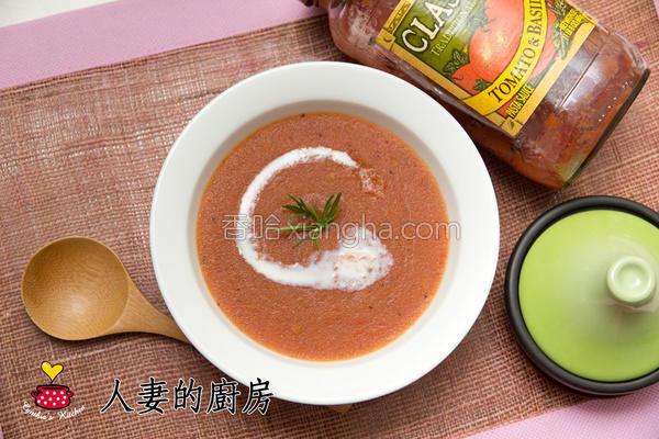 番茄地瓜浓汤的做法