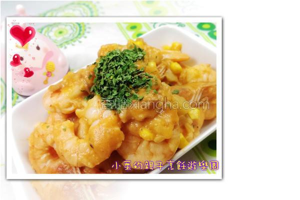 白酱奶油虾的做法