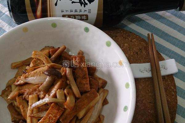 酱香油豆腐的做法