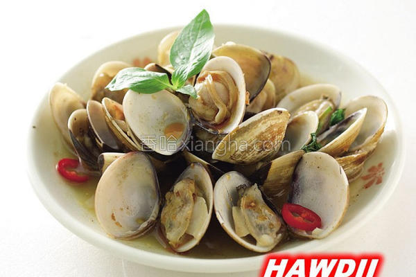辣炒塔香蛤蜊的做法