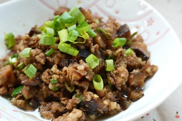 炒香菇肉燥的做法