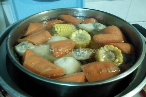 玉米营养汤的做法