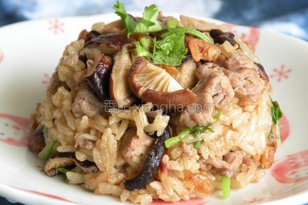 台式糯米饭的做法