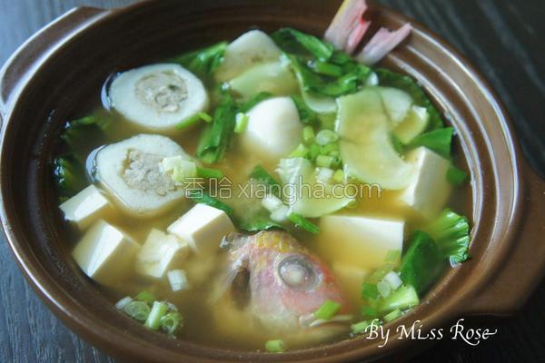 味噌鱼汤的做法