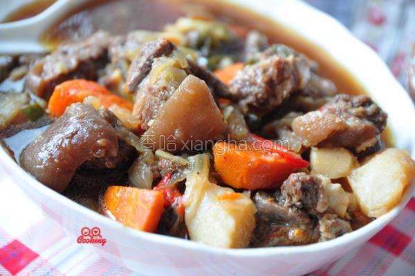 红烧炖羊肉的做法