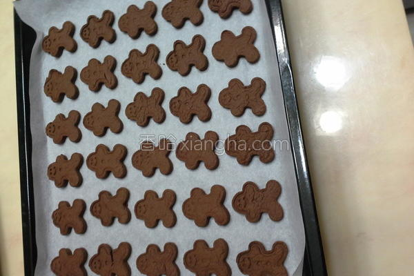 压模巧克力饼干的做法