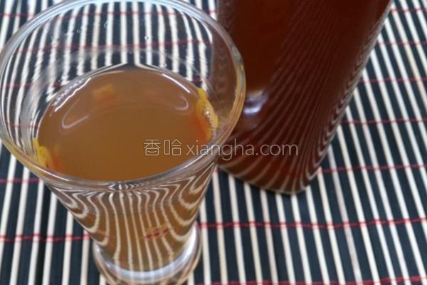 自制蜂蜜梅子酵素的做法