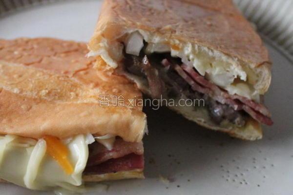 古巴三明治的做法