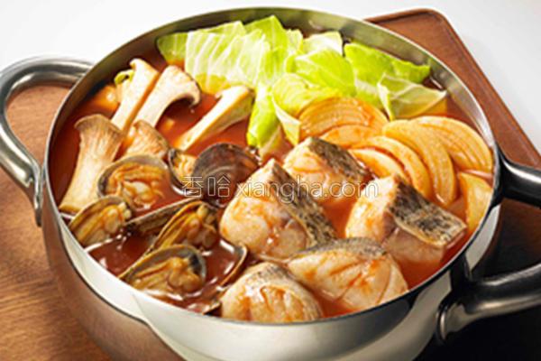 意式番茄锅的做法