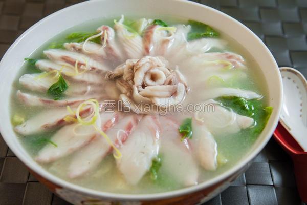 玫瑰鱼片汤的做法