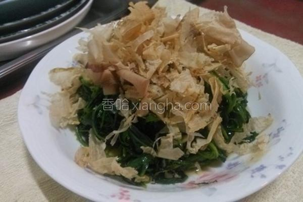 柴鱼拌山莴苣的做法