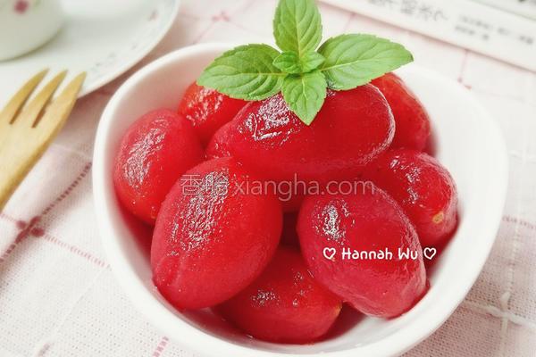 梅渍小番茄的做法