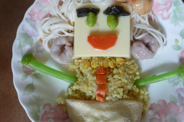 桂冠小厨师的做法