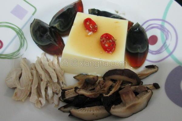 什锦玉豆腐的做法