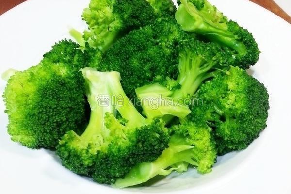 快速烫青花菜的做法