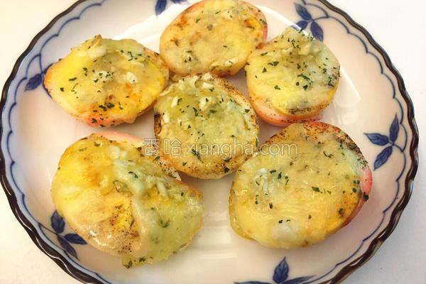 意式香蒜焗烤蛋的做法
