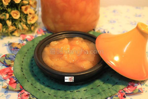 水蜜桃果酱的做法