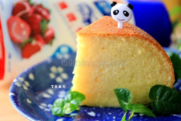 炼奶蛋糕的做法