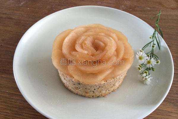 蜜苹果花红茶蛋糕的做法