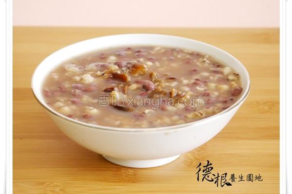 桂圆薏仁红豆汤的做法