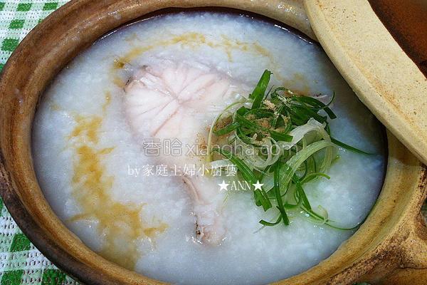 简易快速石斑鱼粥的做法