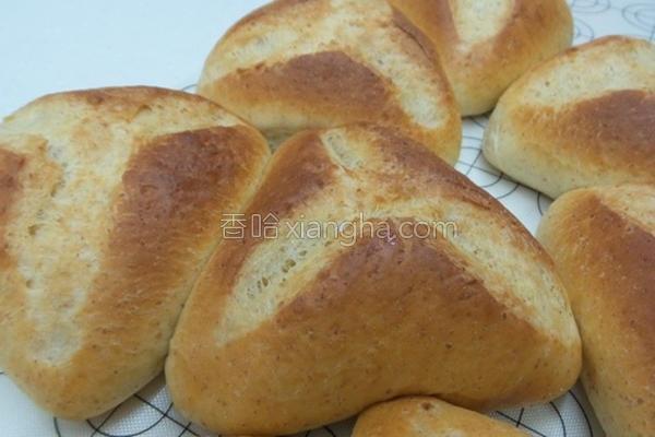 粿麦脆包的做法