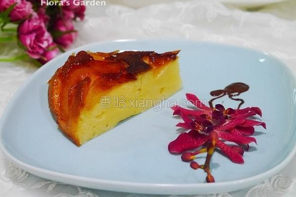 苹果起司蛋糕的做法