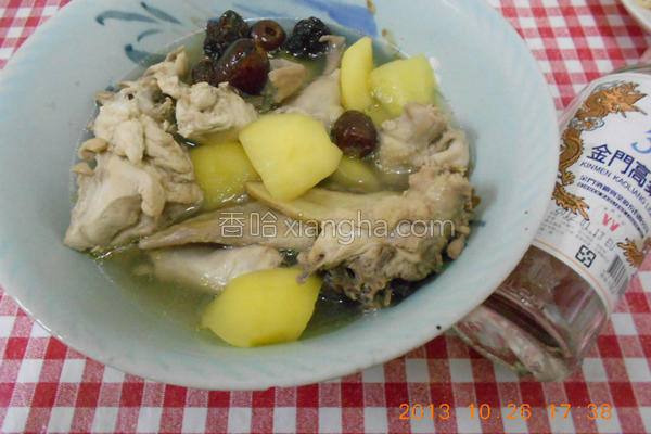 苹果红枣鸡汤的做法