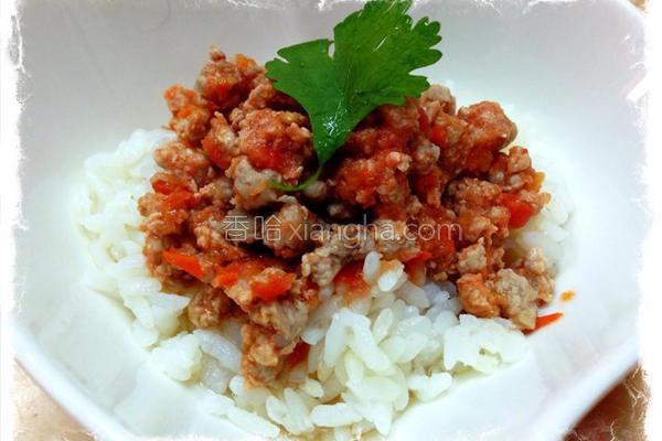 番茄肉酱的做法