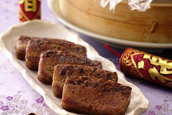 甜蜜蜜红豆年糕的做法