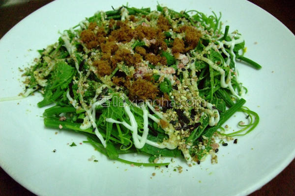 龙鬚菜沙拉的做法