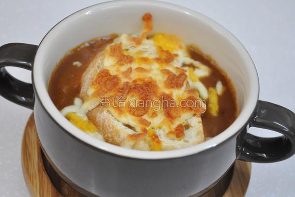 法式洋葱浓汤的做法