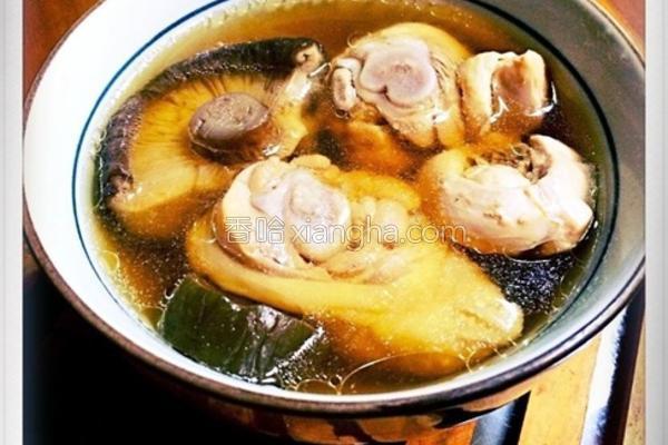 酱瓜鸡汤的做法