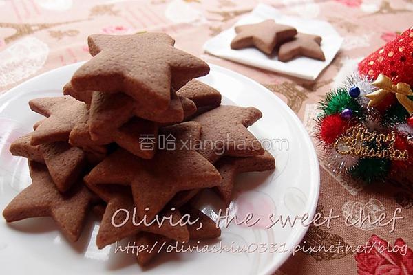 模型巧克力饼干的做法