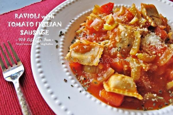 番茄意式意大利饺的做法