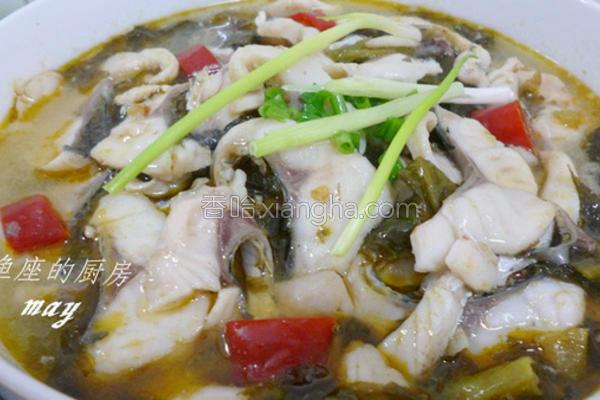 巴蜀酸菜鱼的做法