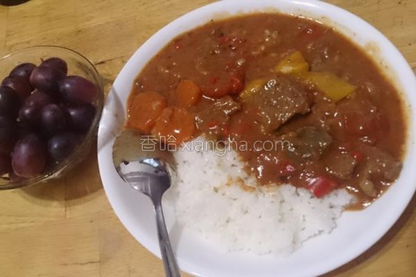 匈牙利红椒炖牛肉的做法