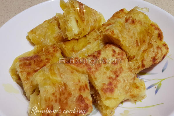 乳酪南瓜抓饼的做法