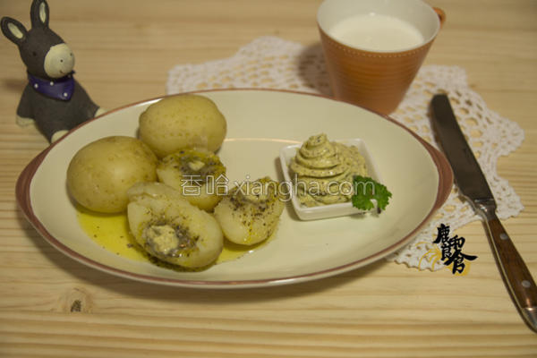 松露奶油烤马铃薯的做法
