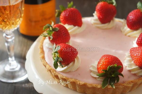 草莓起司塔的做法