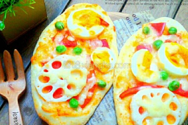 免发酵快速披萨的做法
