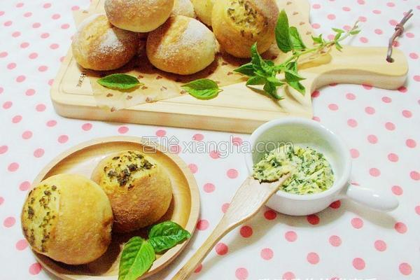 香草酱法式面包球的做法