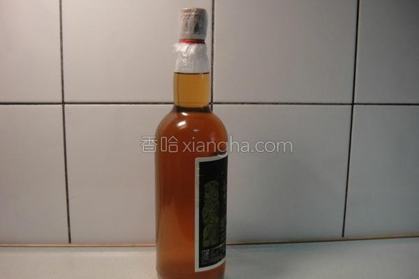 凤梨酒的做法